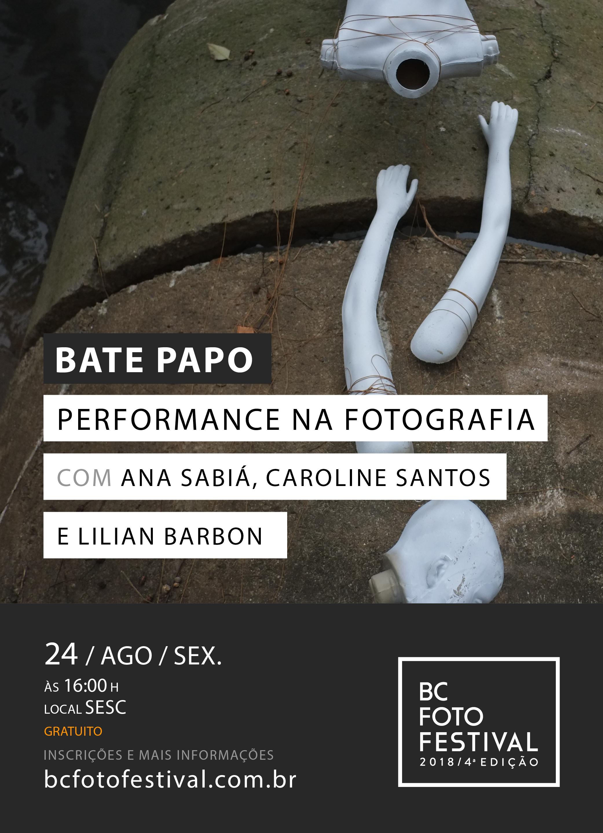Bate-papo – Performance na Fotografia