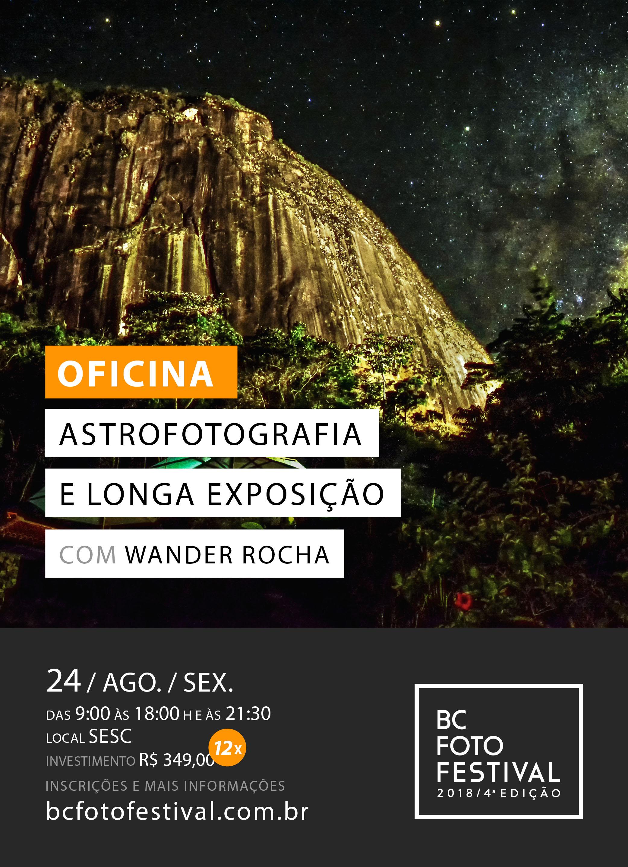 Oficina – Astrofotografia e Longa Exposição