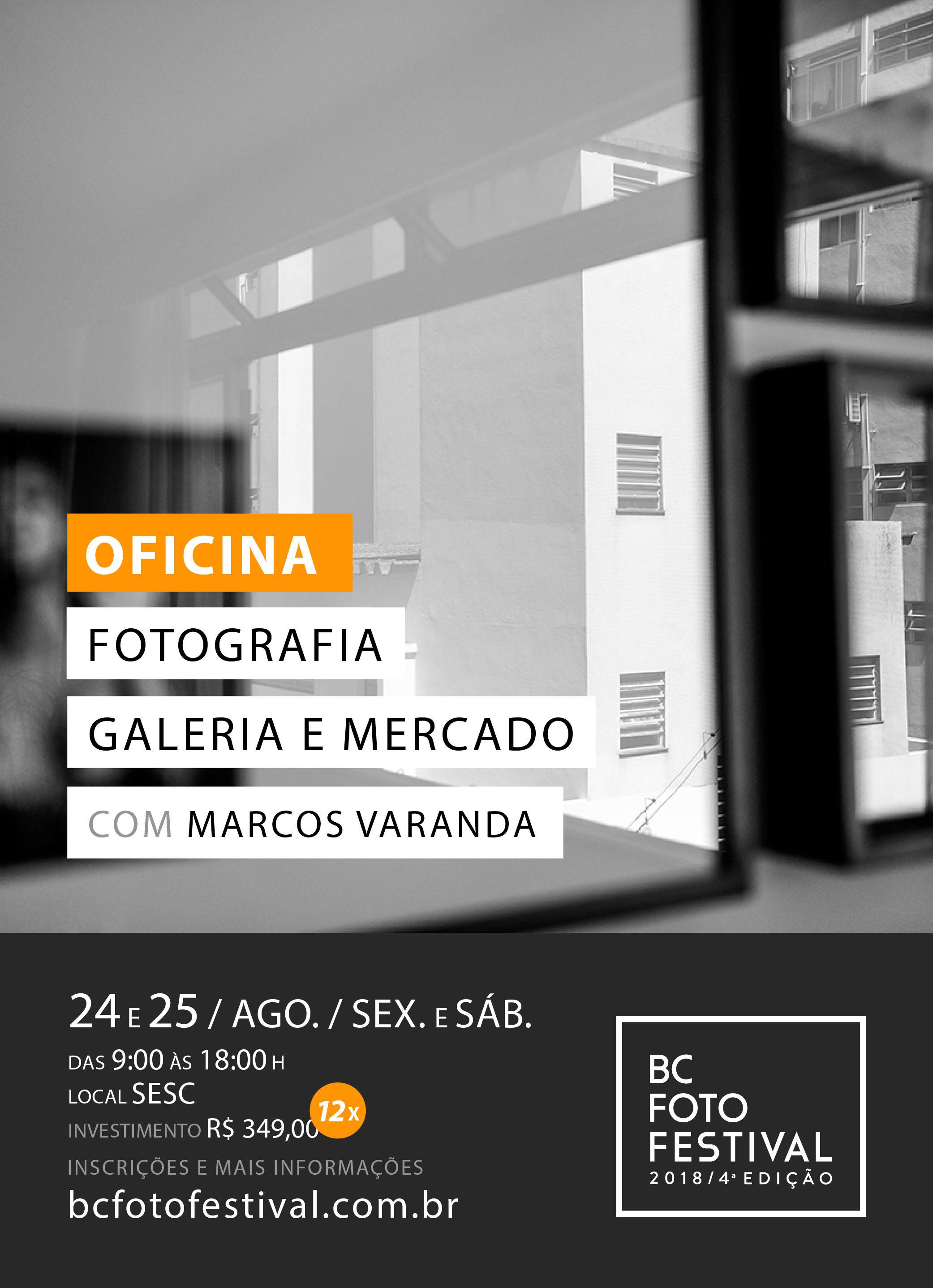 Oficina – Fotografia Galeria e Mercado