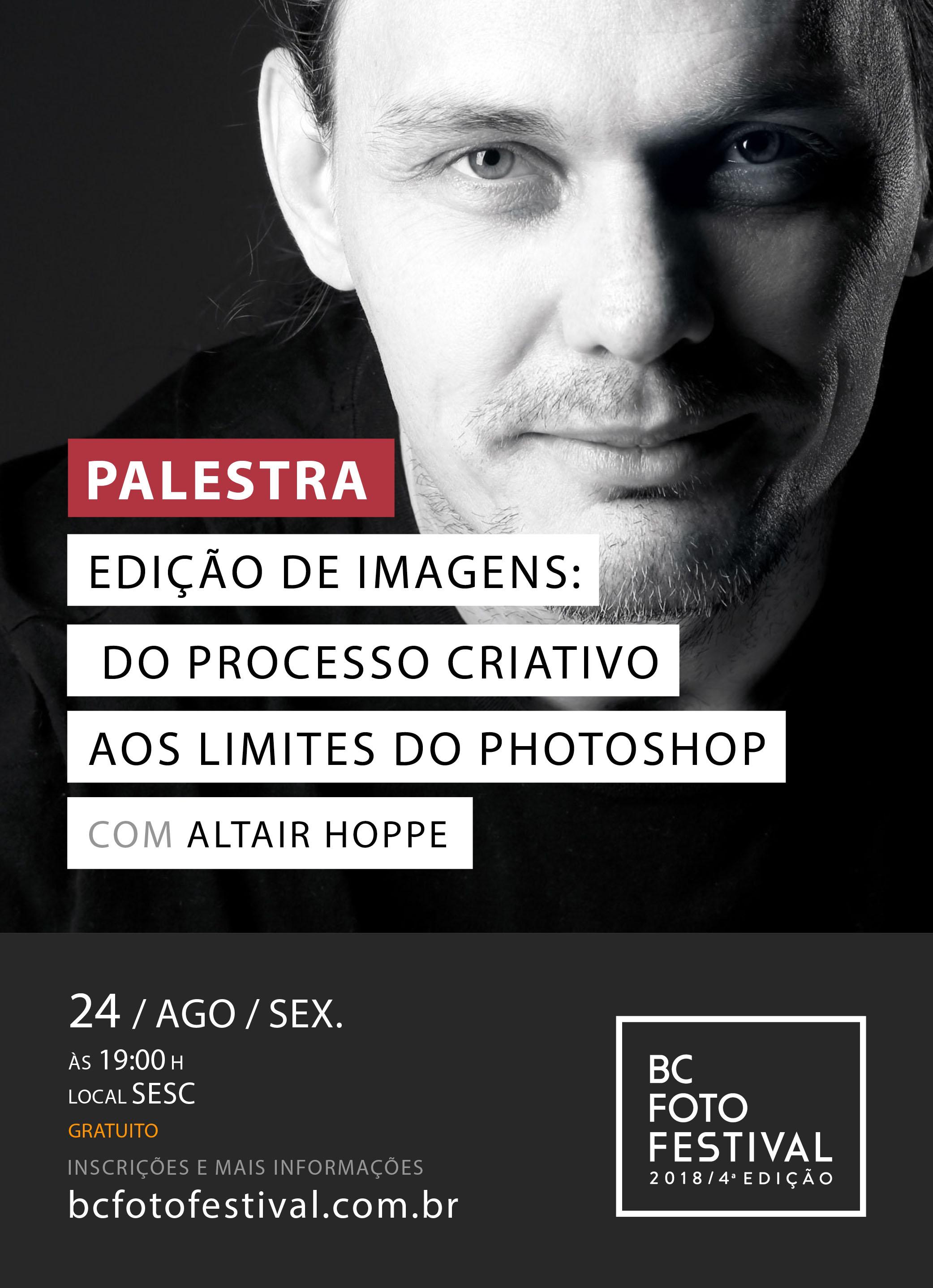 Palestra – Edição de imagens: do processo criativo ao Photoshop